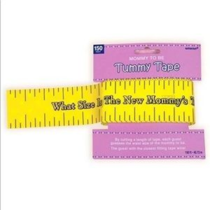 Amscan Tummy Measure Baby Shower 2inches x 150 Ft